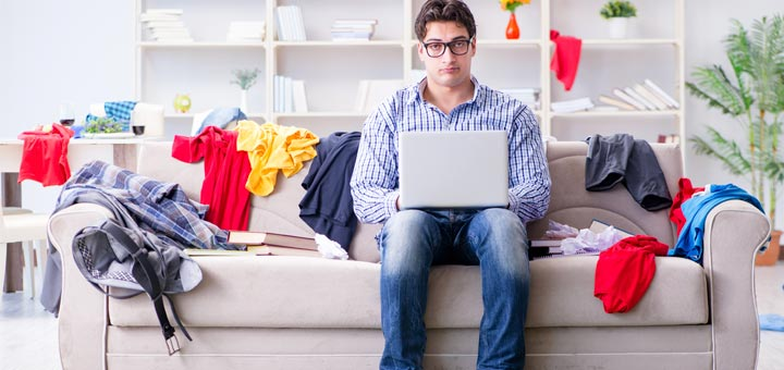 5 Spring Cleaning Tips For Messy People