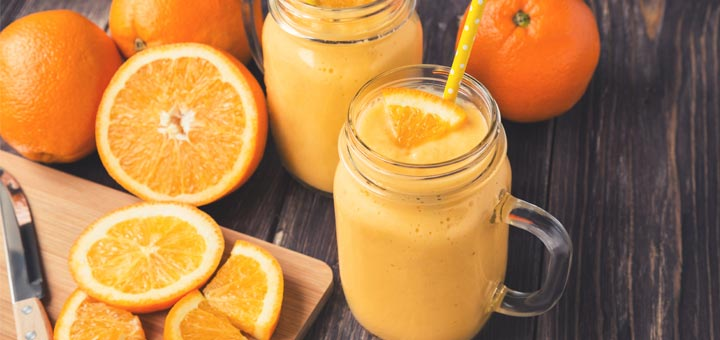 Outrageously Orange Smoothie (Packed With Vitamin C)