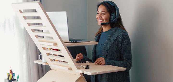 5 Tips To Improve Ergonomics In Your Home Workspace