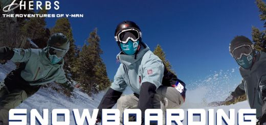 The Adventures Of V-Man: Snowboarding Edition