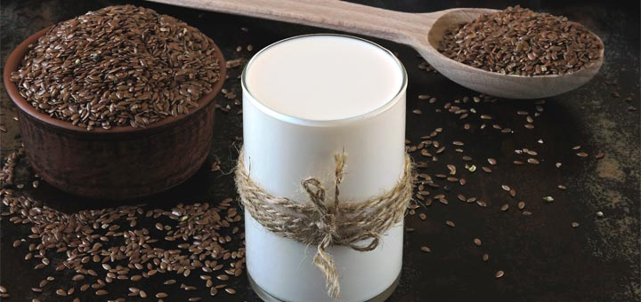 Homemade Flax Seed Milk