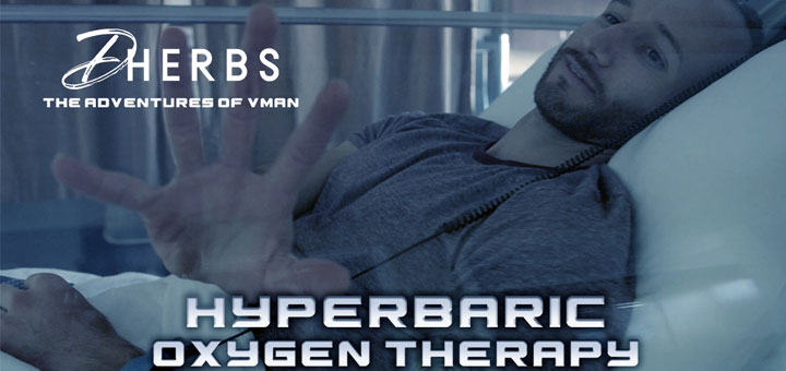 The Adventures Of V-Man: Hyperbaric Oxygen Therapy