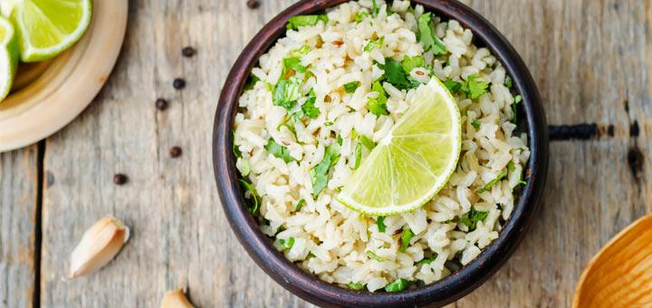 Simple Cilantro Lime Rice