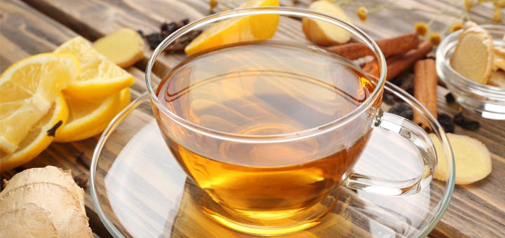 Cinnamon, Fig, And Ginger Sun Tea