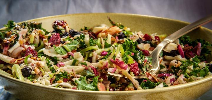 Easy Broccoli And Kale Slaw