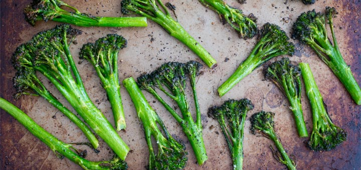 Quick And Simple Roasted Broccolini