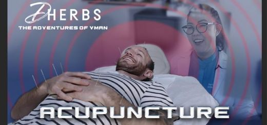The Adventures Of V-Man: Acupuncture