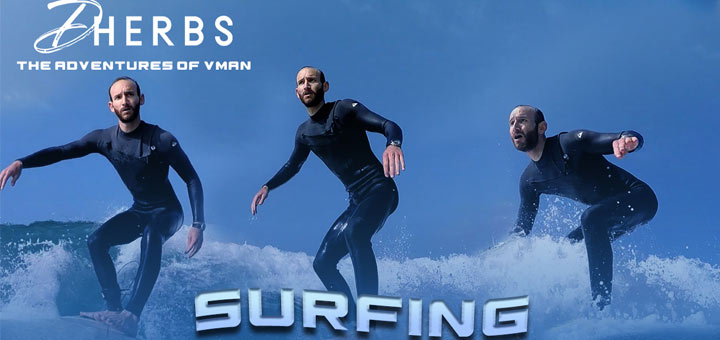 The Adventures Of V-Man: Gone Surfin'
