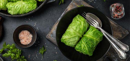 Cabbage Avocado Rolls