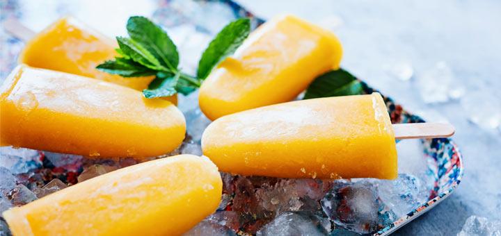 Mango Pineapple Banana Pops