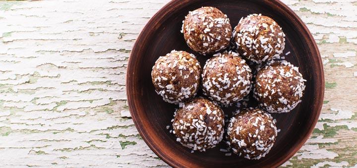 Coconut Walnut Energy Bites