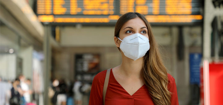 The Best Face Masks To Wear On Planes, Trains, & Automobiles