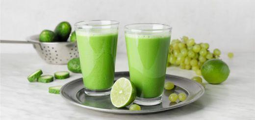Refreshing Green Grape Smoothie