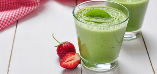 Raw Vegan Green Monster Smoothie